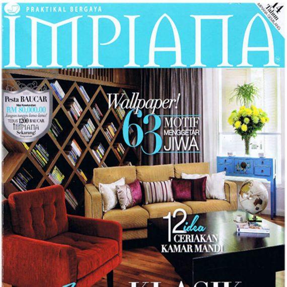 DesignHQ - Impiana Magazine - Front Cover