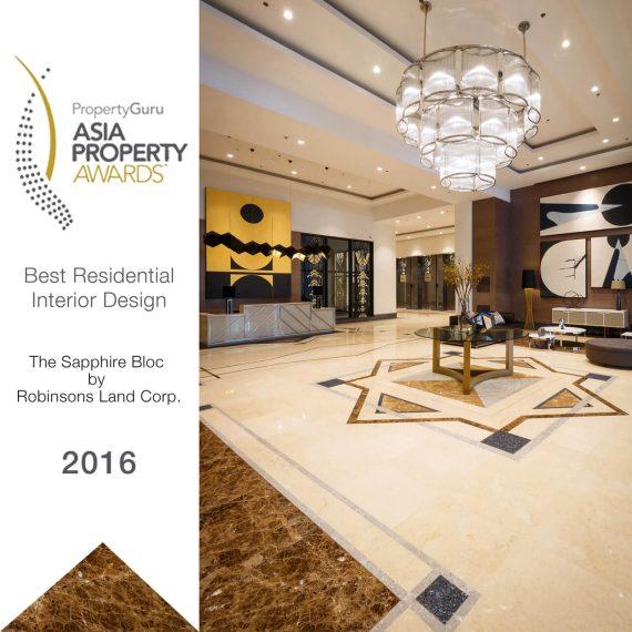 DesignHQ - PropertyGuru Asia Property Awards 2016: The Sapphire Bloc